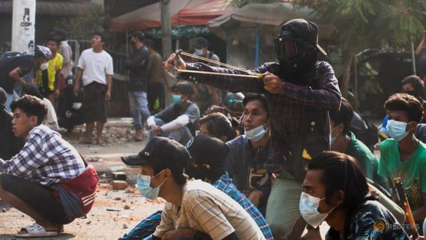 More Myanmar violence reported as activists seek help from ethnic groups