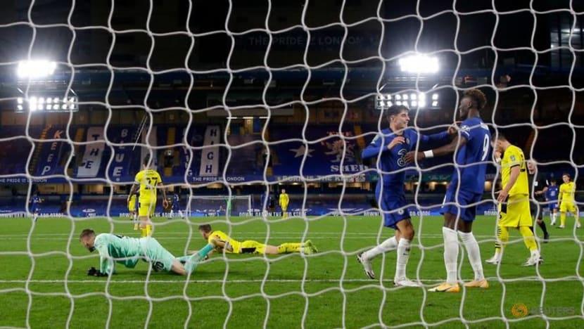 Football: Havertz hits treble as Chelsea rout Barnsley