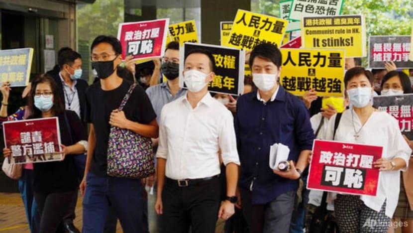 China says 'Five Eyes' should face reality on Hong Kong