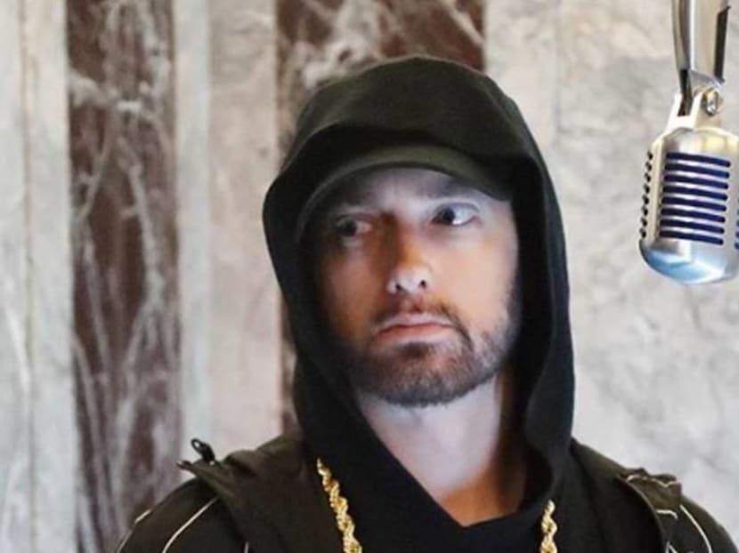 Rapper Eminem questioned by US Secret Service over threatening Trump lyrics