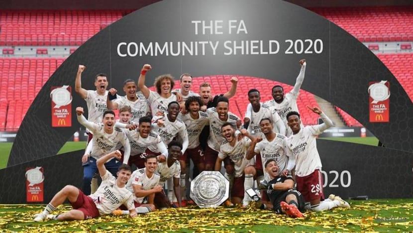 Football: Arsenal beat Liverpool on penalties to lift FA Community Shield