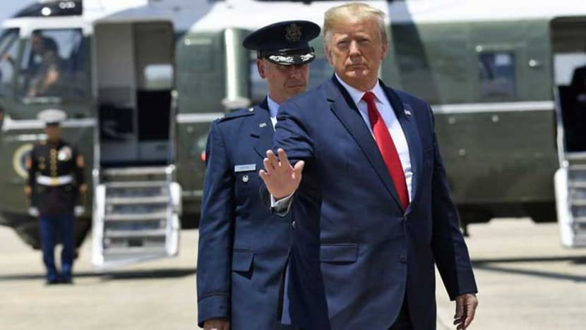 Trump leaves for G20 with attacks on China, allies