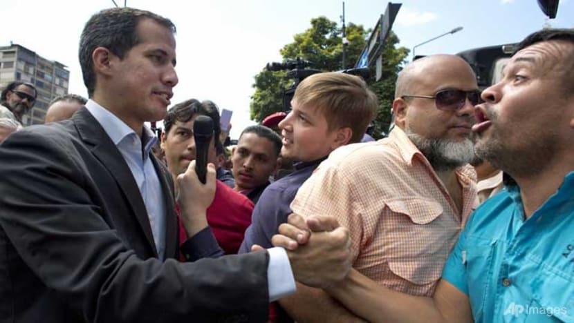 Venezuela aid standoff hardens between Guaido, Maduro