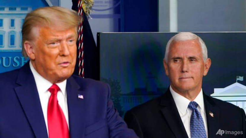 Loyal soldier Pence torn between Trump, Constitution