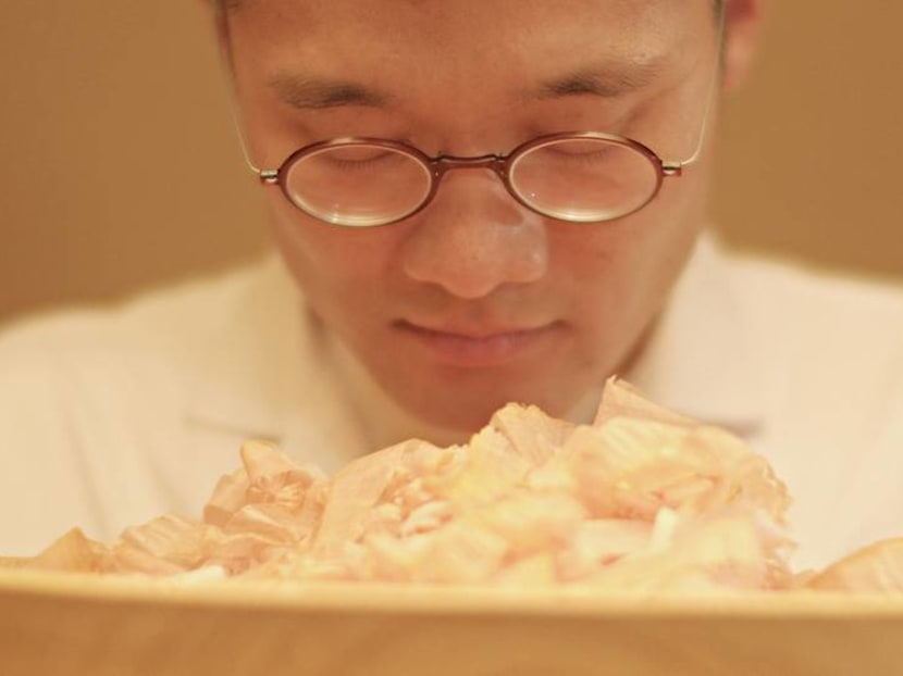 The kaiseki chef who uses the same spring water as Kyoto's Imperial Palace