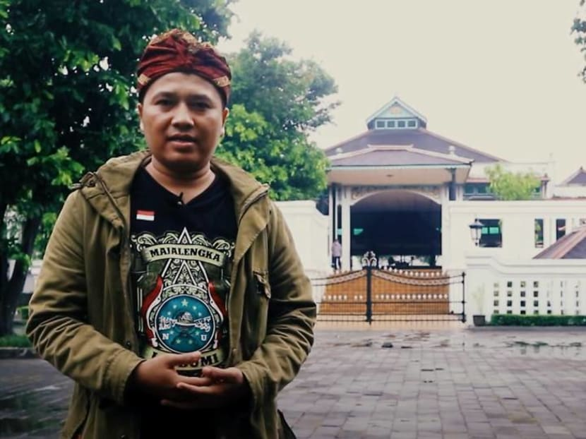 This man can read and write 30 ancient Indonesian scripts, some as old as 500 years