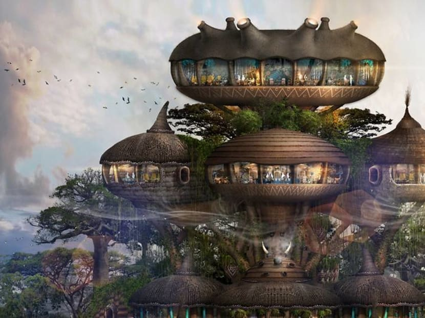 This 'human zoo' eco-resort will cage guests while the animals roam free