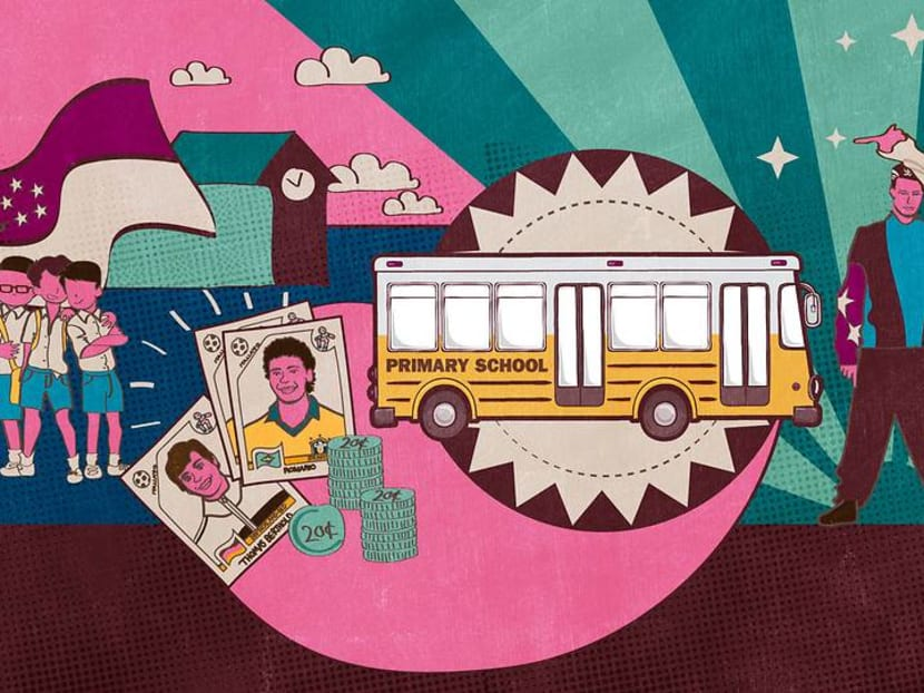 Chi ko pak and ice cream stick 'guns': Life lessons from riding the school bus