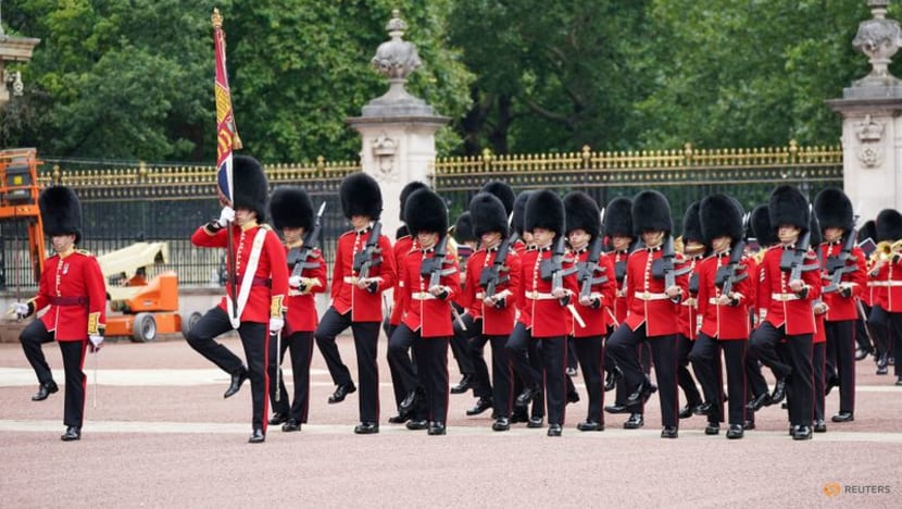 They're changing the guard again at Buckingham Palace after 18 months