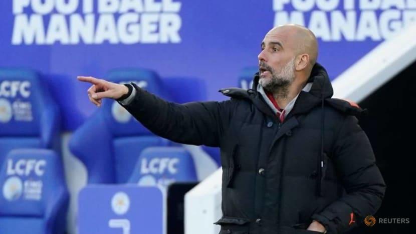 Football: City's Guardiola says squad rotation key to quadruple hopes