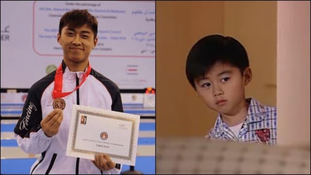 香港奥运击剑队,竟然有TVB童星!?
