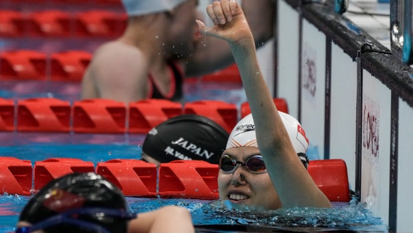 Swimming: Singapore's Yip Pin Xiu wins gold in women's 100m backstroke S2 at Tokyo Paralympics