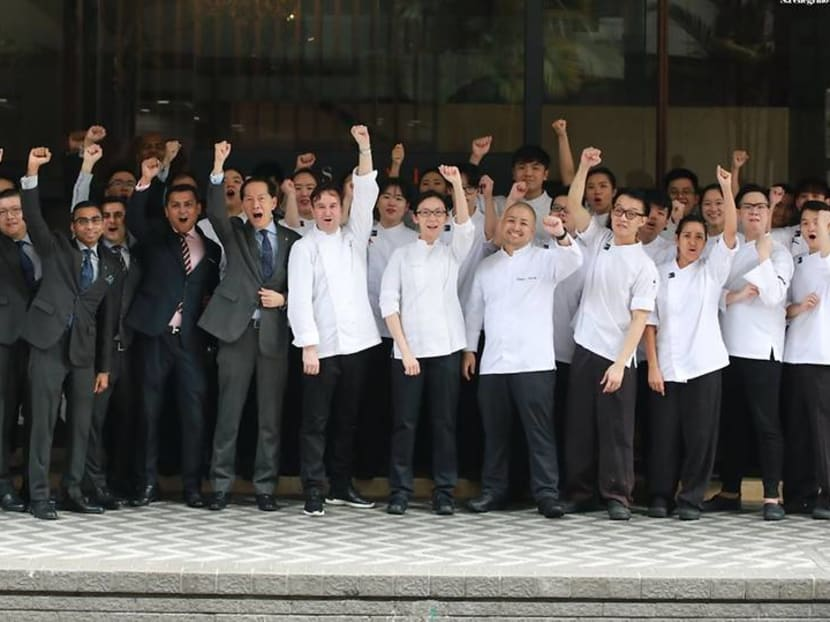 Les Amis is first Singapore restaurant to win Gin Mare Art of Hospitality Award