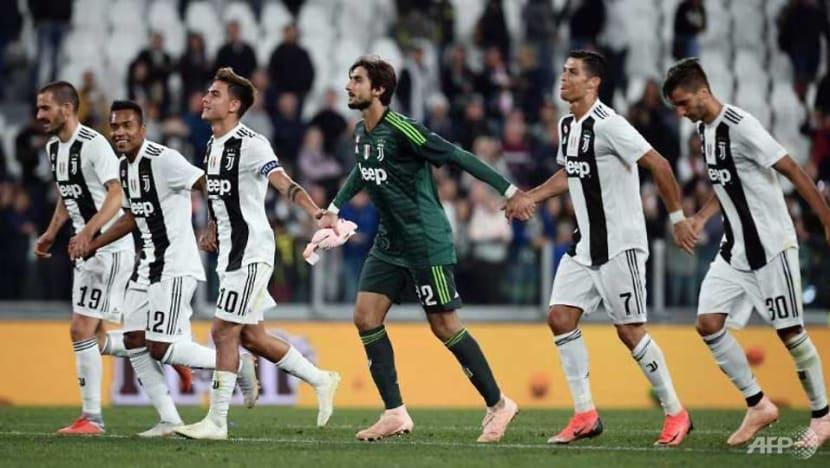 Football: Juventus extend Serie A streak, Roma back winning
