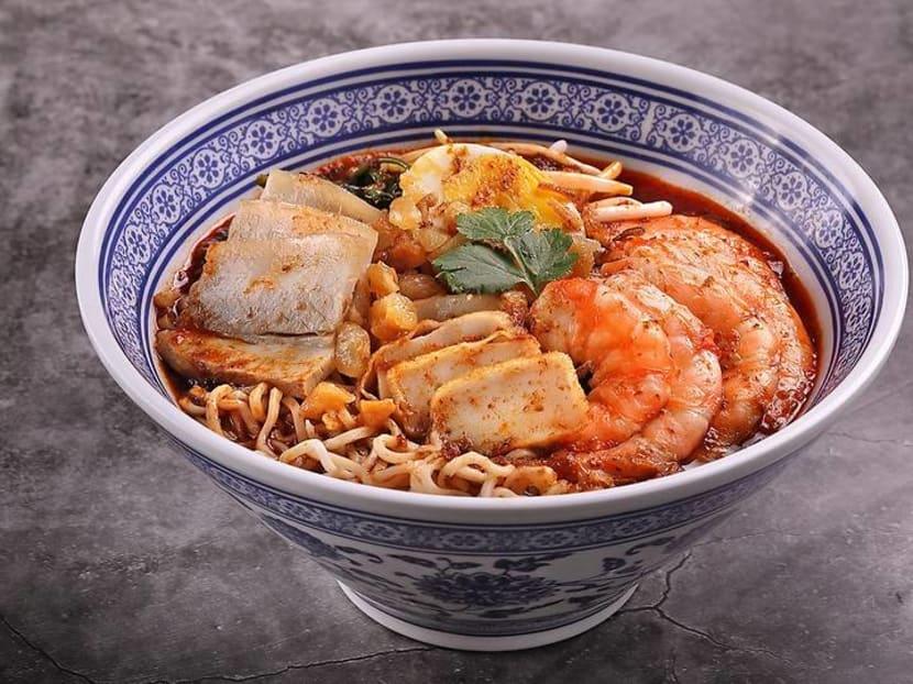 Fine dining legend Justin Quek's new dish: S$12.80 'Hae Mee' Nissin Noodle