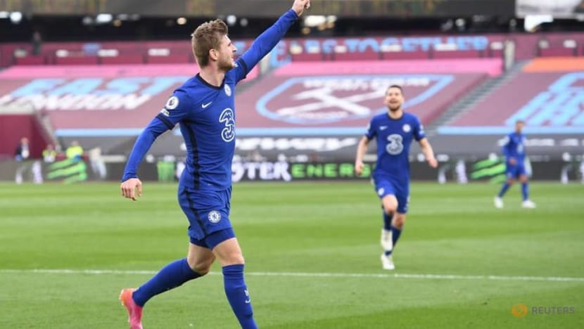 Soccer-Werner seals crucial win for Chelsea at West Ham