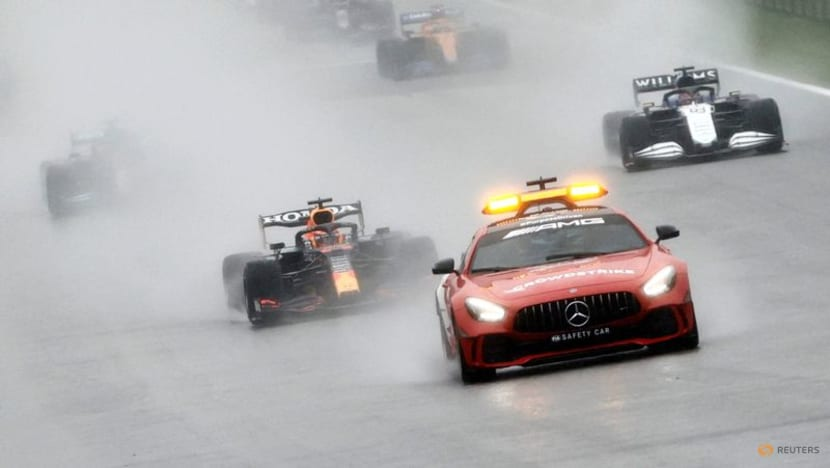 Motor racing:Formula One under fire after Spa 'race' farce