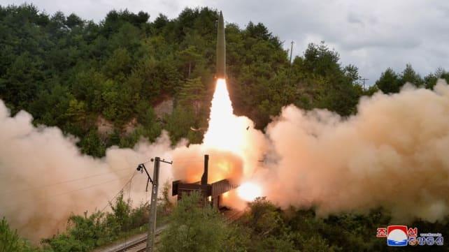 North Korea accuses US of double standards on missiles, hampering talks