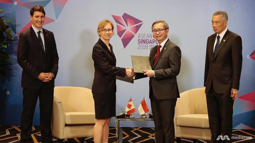 Singapore, Canada agree to boost cybersecurity cooperation