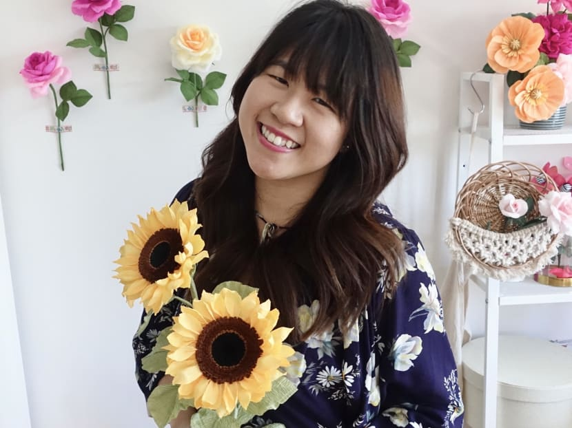 Creative Capital: The arts educator who left her job to make crepe paper flowers