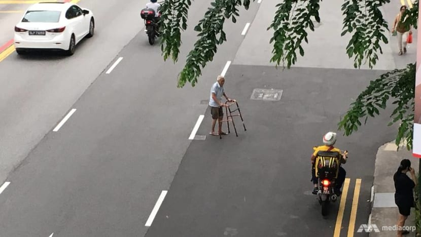 Accidents involving elderly pedestrians on the rise, many due to jaywalking: Police