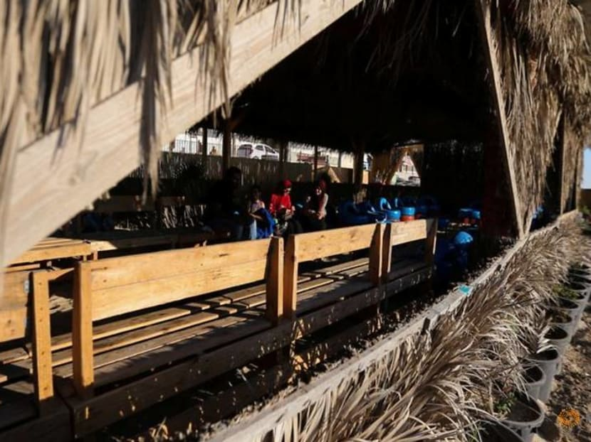 Gaza cafe complex serves up lessons in recycling alongside drinks