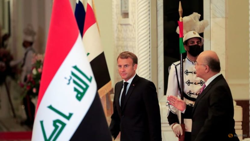 Macron says France will stay in Iraq whatever US decides to do