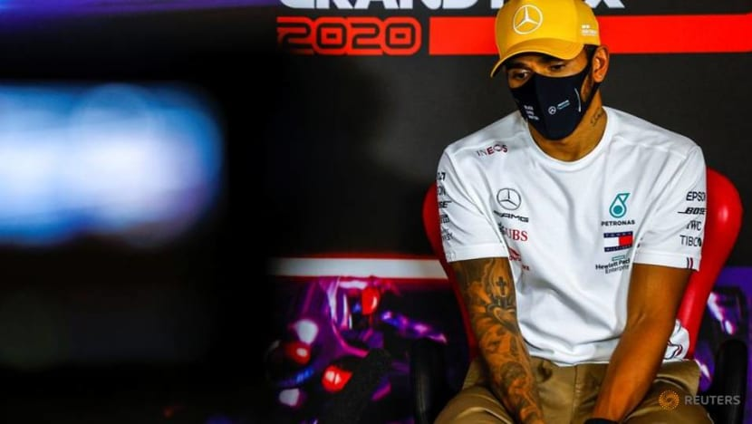 Motor racing-Hamilton contract top of the agenda now F1 season is done