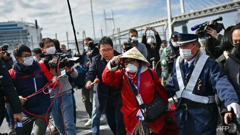 More passengers to disembark in Japan from cruise ship hit by COVID-19