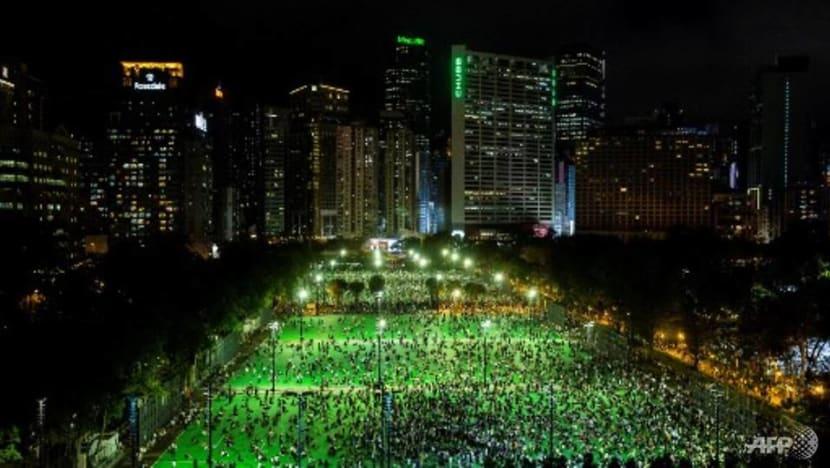 Thousands in Hong Kong defy ban on Tiananmen vigil
