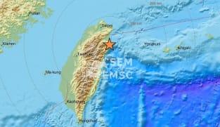 6.5-magnitude earthquake hits northeast Taiwan: Weather bureau