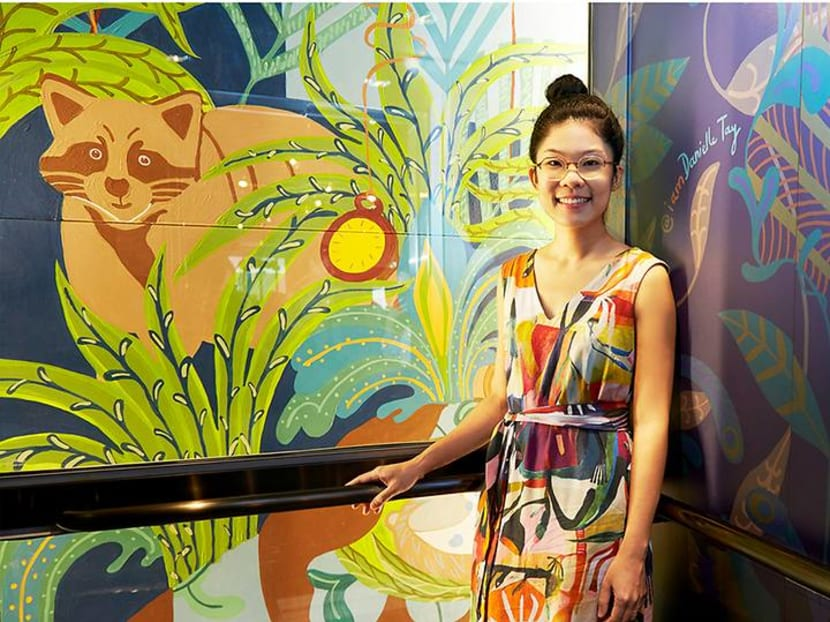 How one Singaporean artist is trying to make the world a happier place