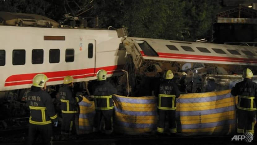 9-year-old youngest among those killed in Taiwan train accident