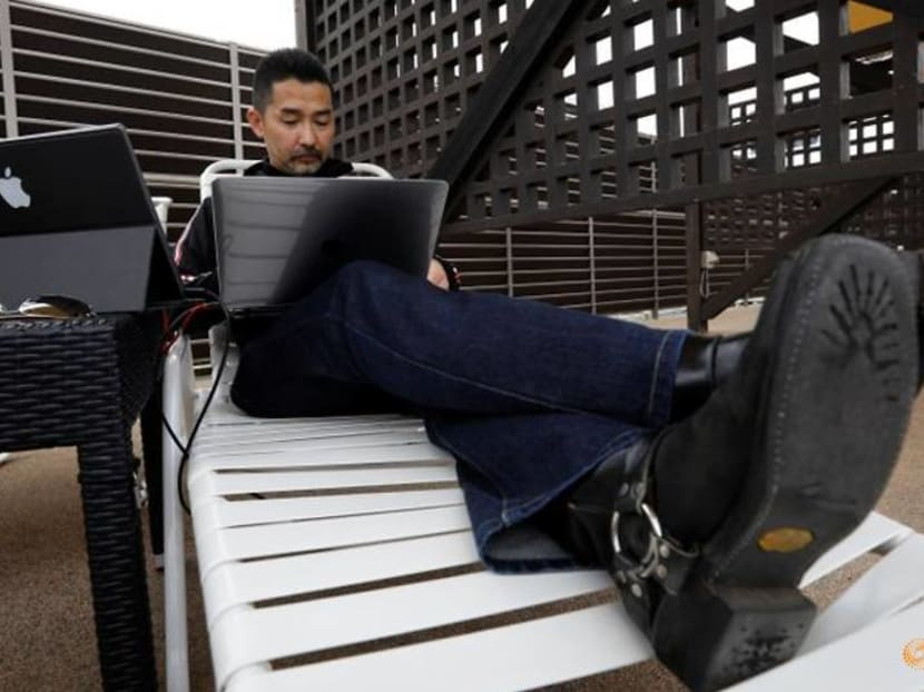 By the pool or ferris wheel? Japanese theme park becomes new office for teleworkers