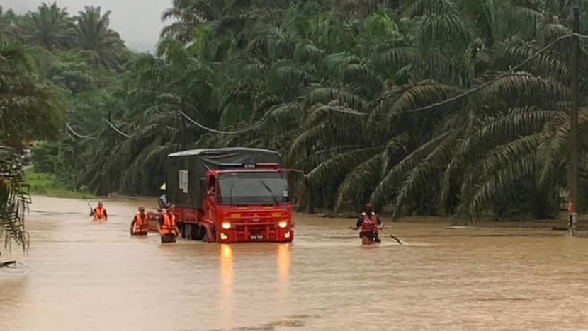 Johor floods: More than 6,500 evacuated; man may have drowned after car swept away