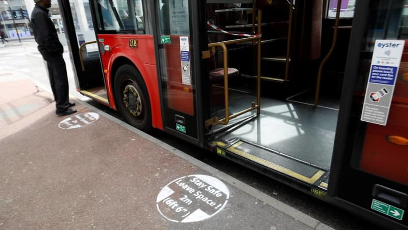 London buses step up COVID-19 measures after death of 20 drivers