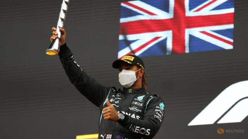 Formula 1: I'm only human, says Hamilton after recovery from rare error