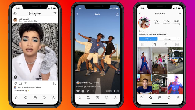 "IG版本的""TikTok"" FB推出全新Instagram Reels功能"