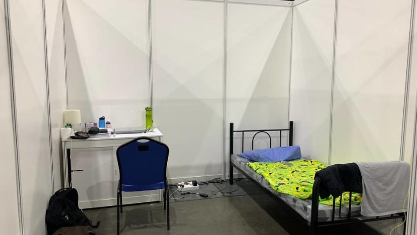 Life at the Singapore Expo: A COVID-19 patient shares his experience in a community isolation facility