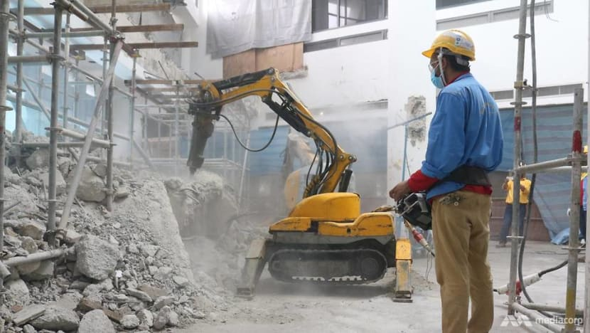 No explosives or swinging balls: How high-rise demolitions go down in Singapore