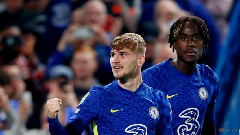 Football: Chelsea's Werner pleased to get off the mark