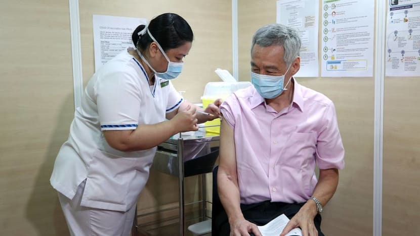 'Don't delay': PM Lee urges senior citizens to get their COVID-19 vaccinations