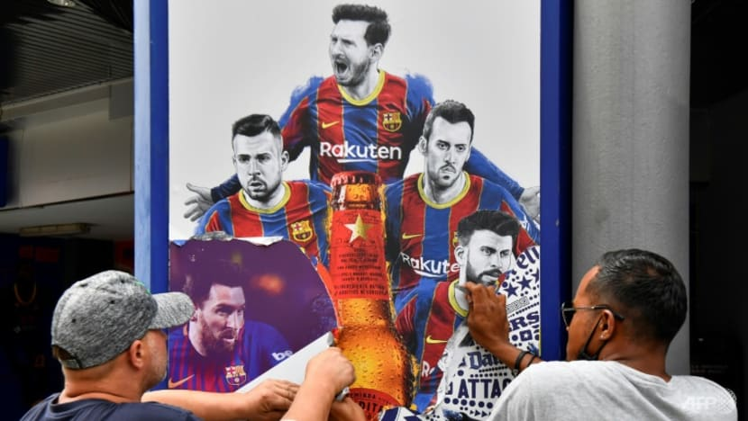 Football: After Messi, what next for Barca?