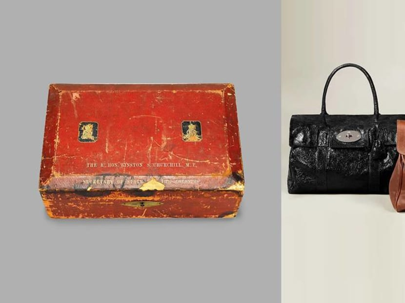From Churchill's despatch box to a star's Fendi: A handbag show opens in London
