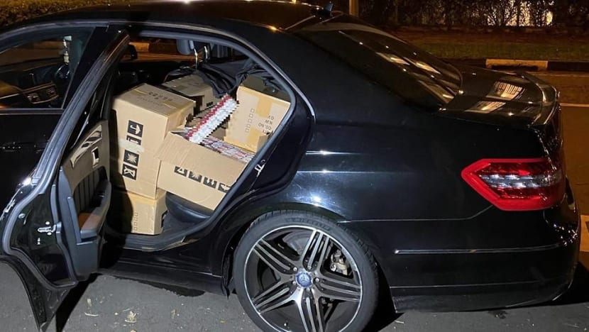 Director of freight forwarder, 3 others arrested over 1,200 cartons of duty-unpaid cigarettes
