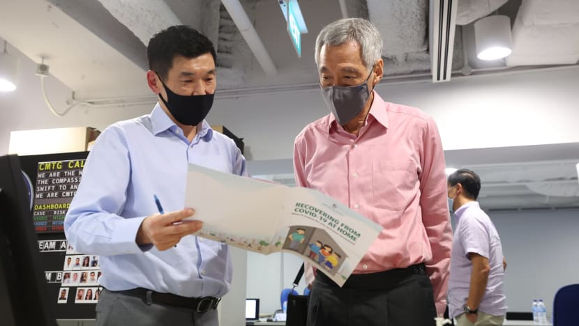 COVID-19 case management task group doing its 'best to scale up' operations amid growing case numbers: PM Lee