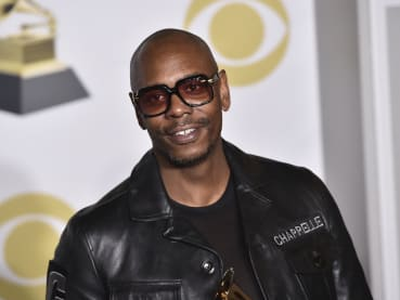 Protestors rally at Netflix over Dave Chappelle stand-up special's trans comments