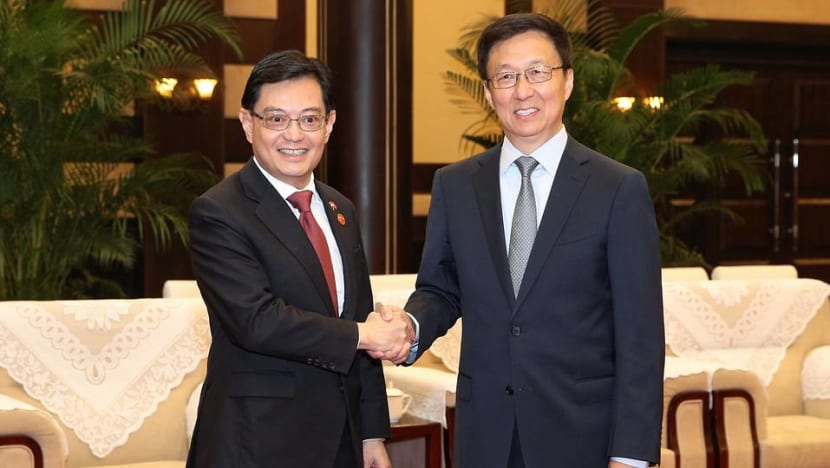 Singapore and China sign 9 agreements, exchange views on 'excellent' state of relations