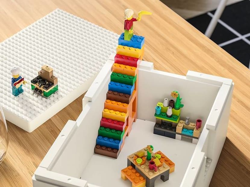 IKEA x LEGO brick set, storage boxes will be available in Singapore from Feb 18