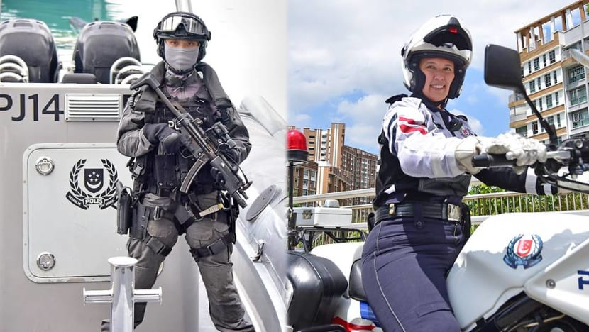 'We're treated as equals': Women officers in SPF